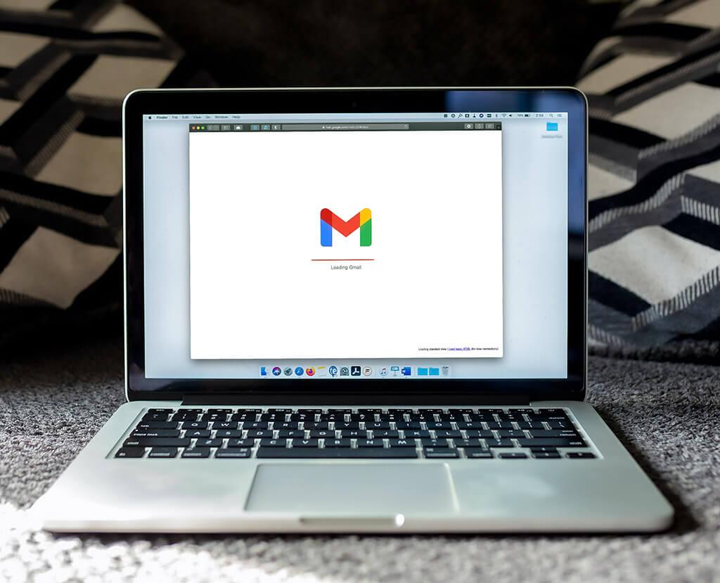 Laptop-Gmail